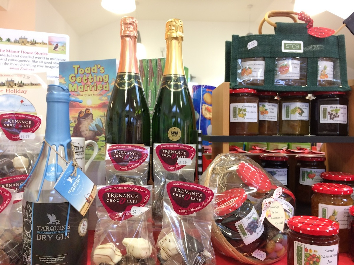 Trenance Chocolates, Camel Valley & Tarquins