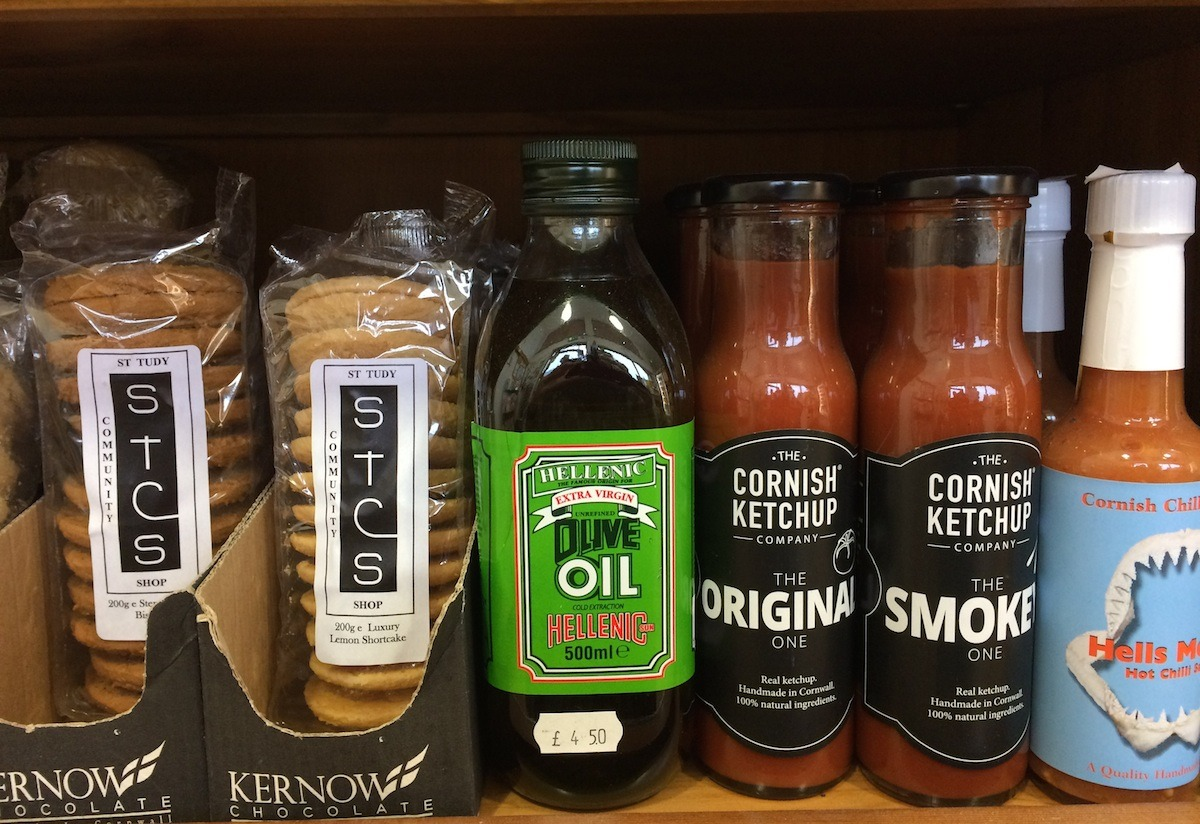 Cornish Ketchup, Cornish Chilli Company, STCS