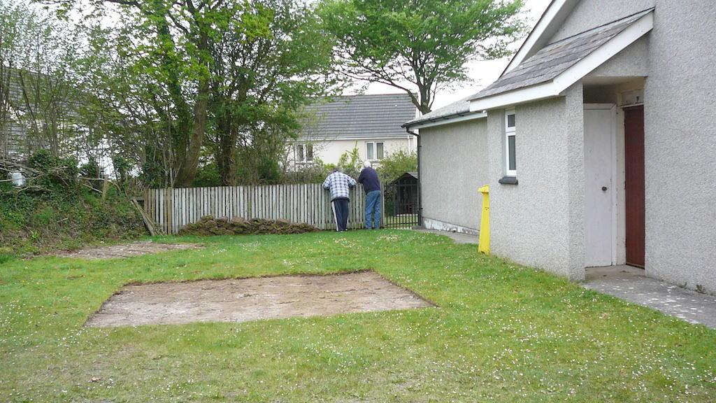 St Tudy Community Shop the beginning (2)