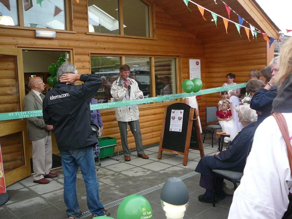 St Tudy Community Shop the beginning