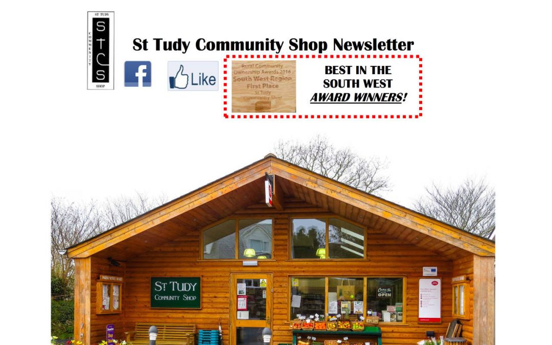 St Tudy Community Shop Newsletter – March 2017