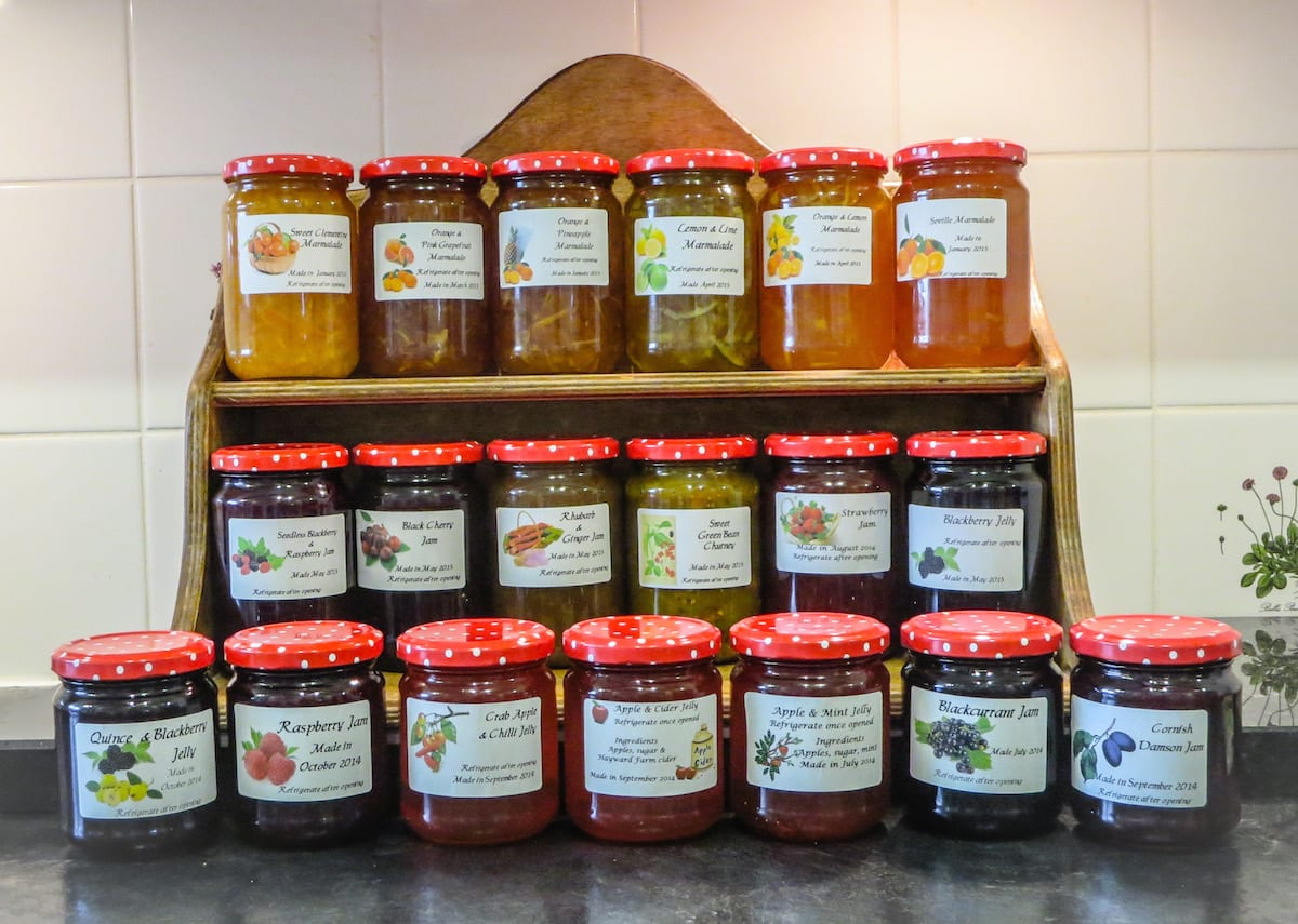 Selection of Sue's jams