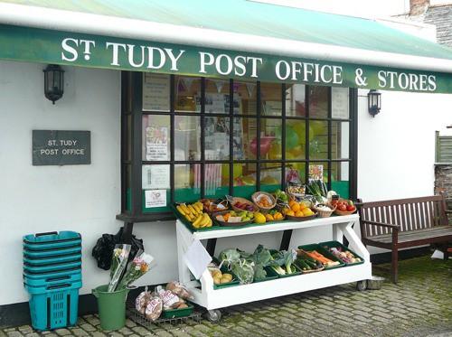 St Tudy Village shop in the xxxx's
