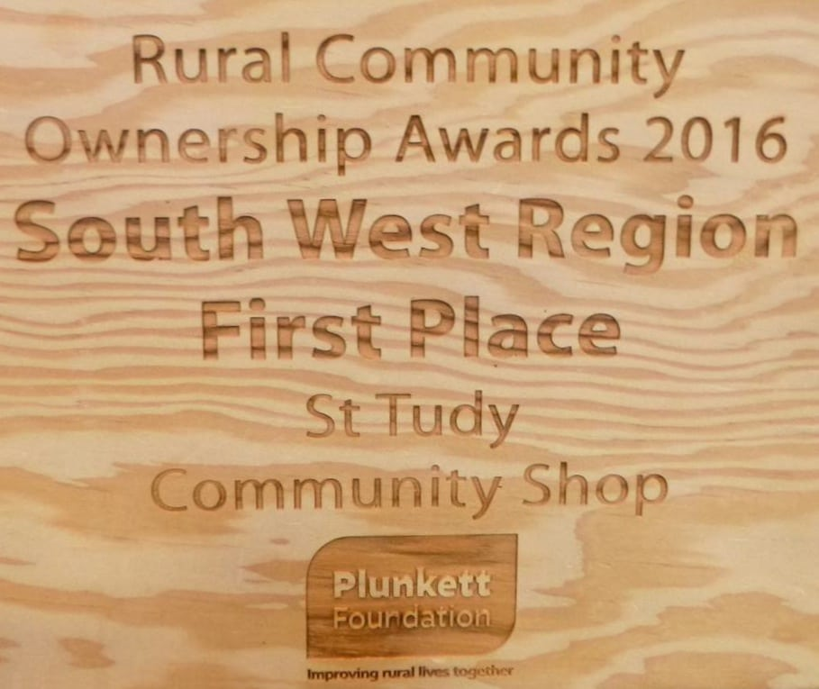 Rural Community Ownership Awards 2016 South West Region Winner